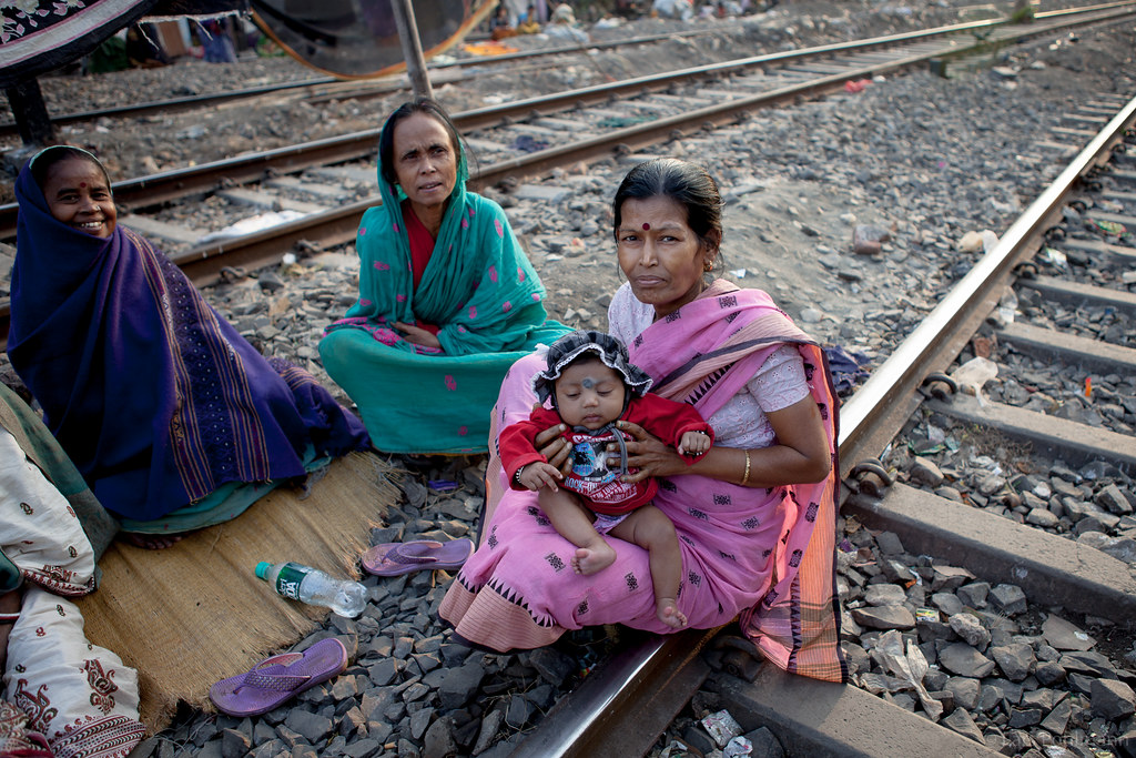 Panchanantala Slum In Kolkata I Was Walking Around In Calc Flickr