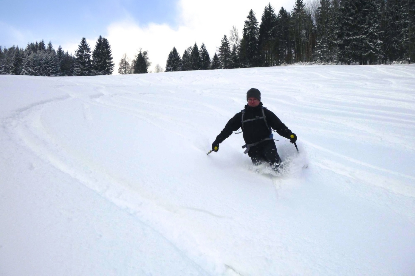 Kde mám lyže?