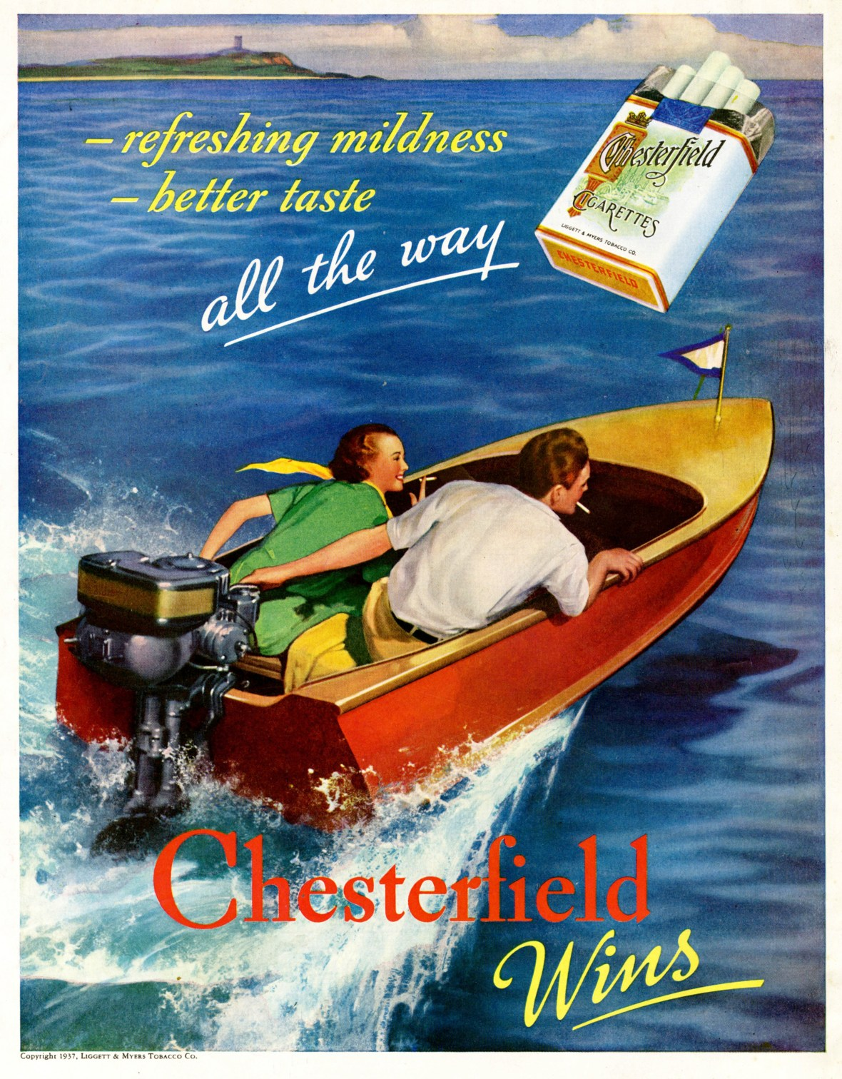 Chesterfield Cigarettes - 1937