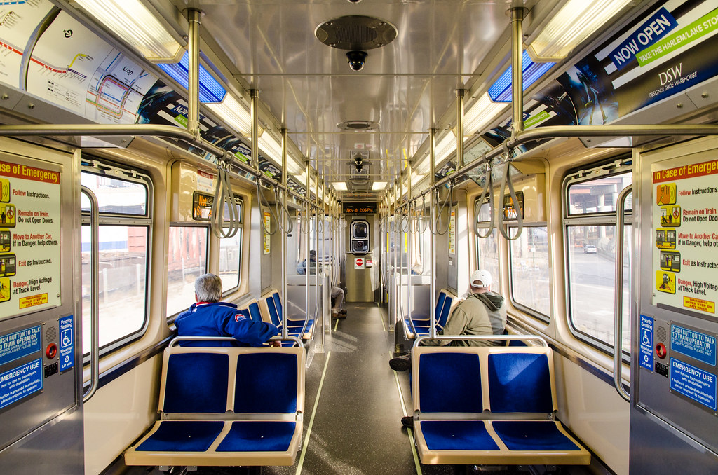 CTA 5000 Series Railcar Interior The 5000 Series
