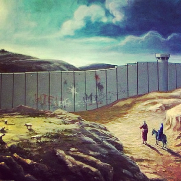 Banksy Christmas Card If Jesus Were To Come This Year