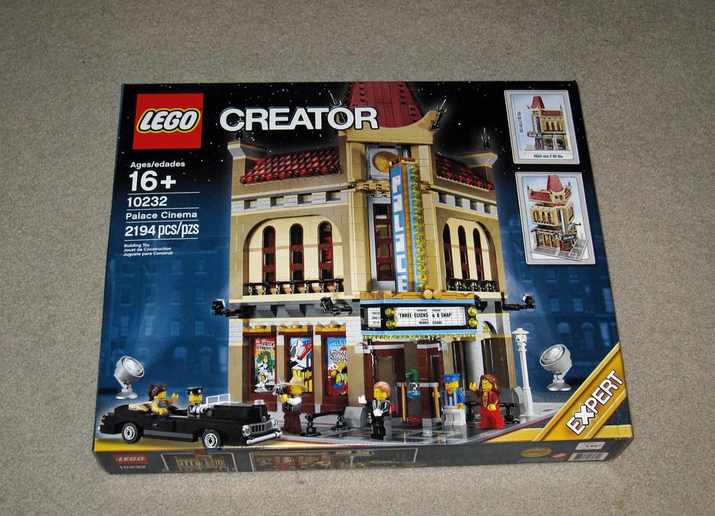 Lego Modular Set 10232 Palace Cinema Lego S Modular
