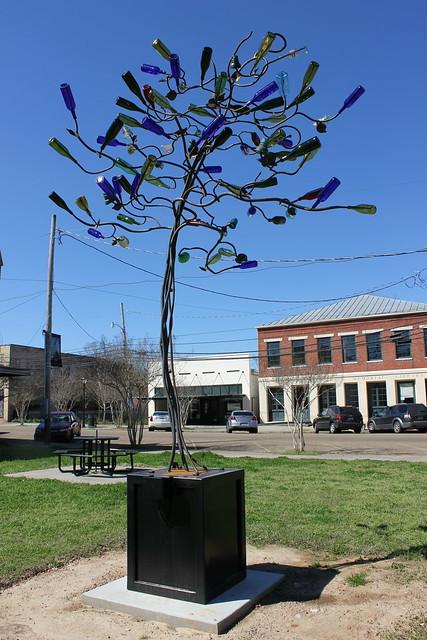 Stephanie Dwyer Bottle Tree in Port Gibson, MS