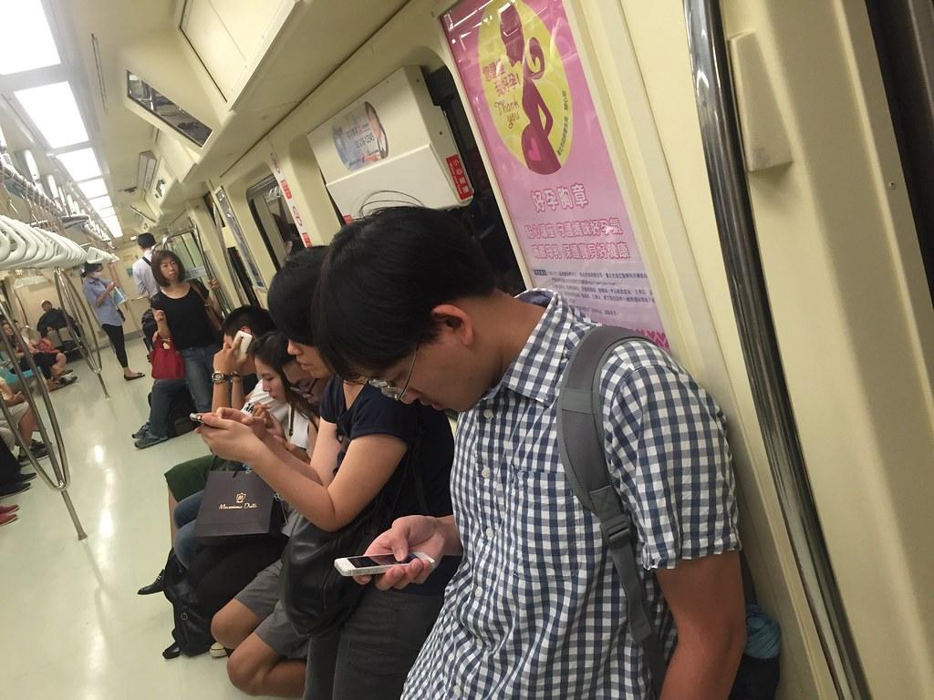 Jugadores en el metro
