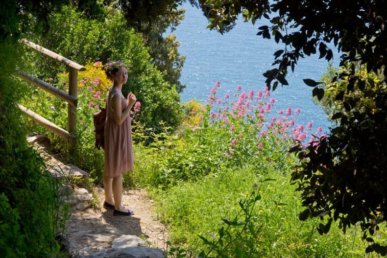 Trails of Cinque Terre.
