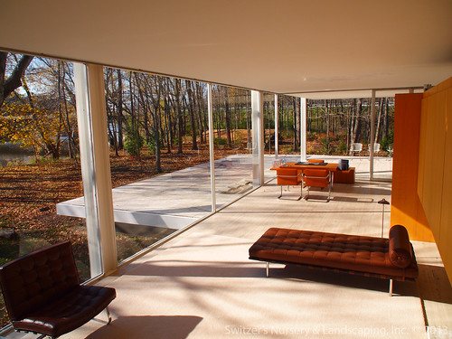 The Edith Farnsworth House By Ludwig Mies Van Der Rohe P