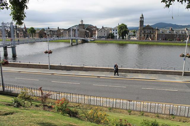 Inverness, capital de las Highlands