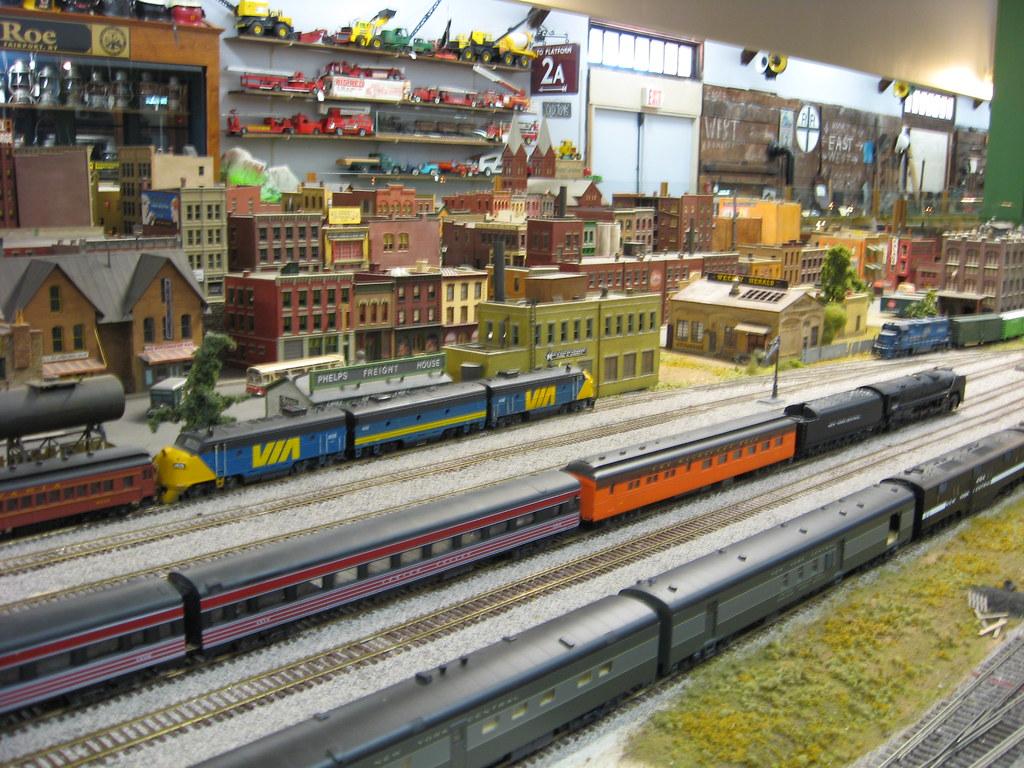 Medina Railroad Museum HO Scale Model Train Layout 29