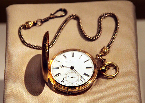 Abraham Lincoln Pocketwatch And Fob 1850 Smithsonian Mus