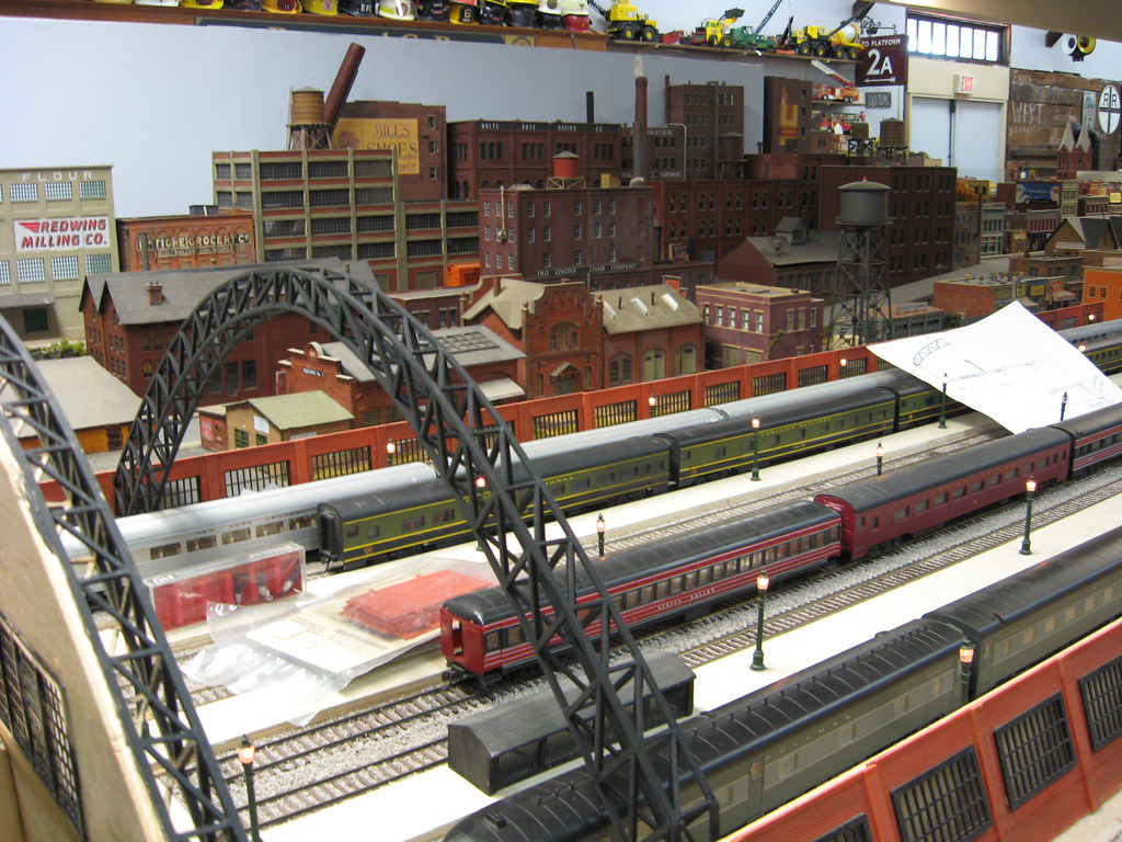 Medina Railroad Museum HO Scale Model Train Layout 28