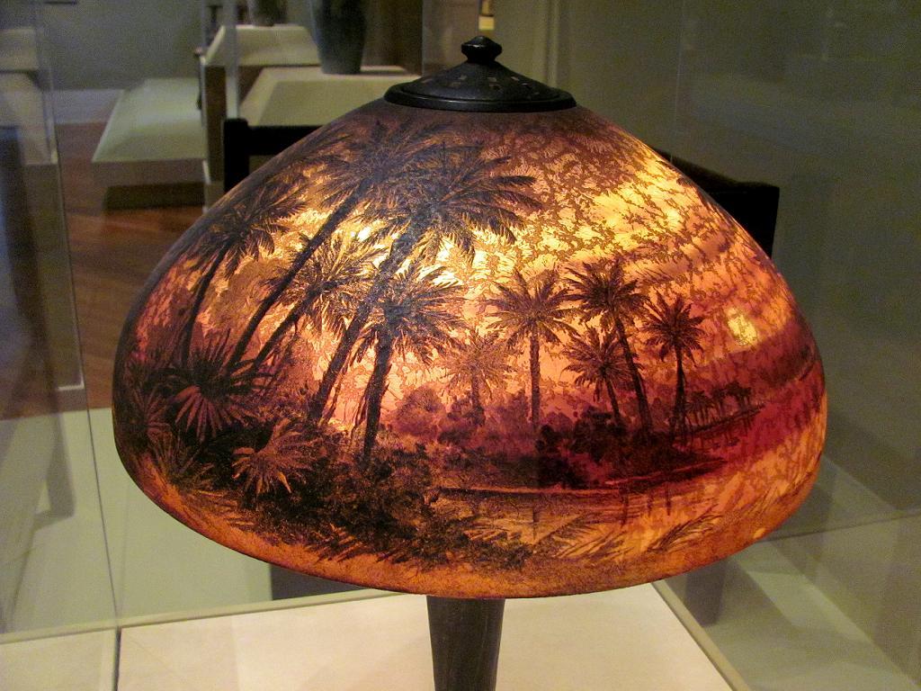 Sunset Art Tree Palm