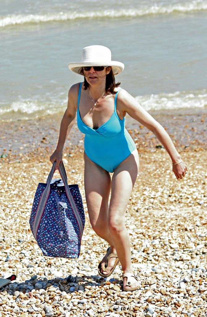 Dymchurch Beach May 2012 Wonderful Swimsuit Candid 1