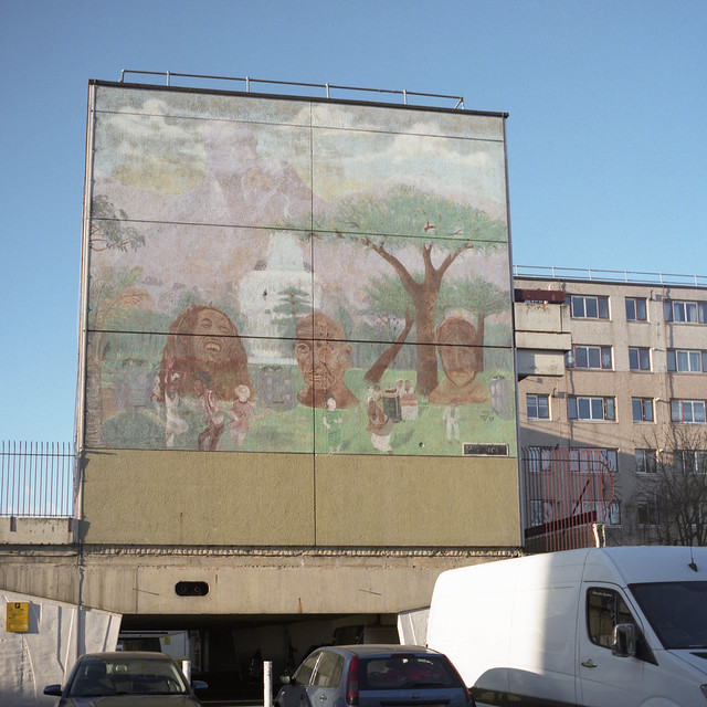 Anthony Steele, Peace Mural I, 1987