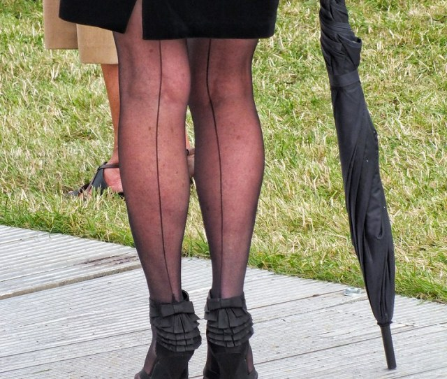 Seamed Stockings Goodwood Revival Period Dress By Sark S W