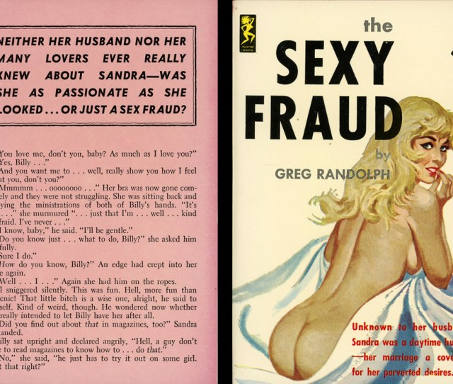 Playtime Books 614 Greg Randolph The Sexy Fraud With Back By