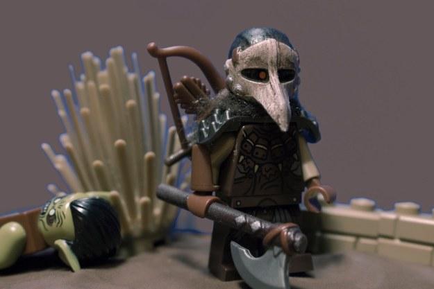 乌鸦的战士