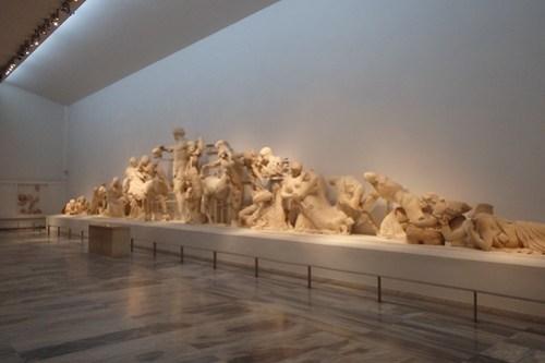 Il museo di Olympia