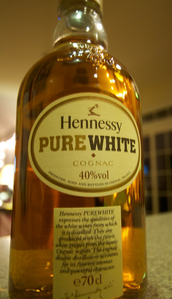 Pure White Hennessy Cognac