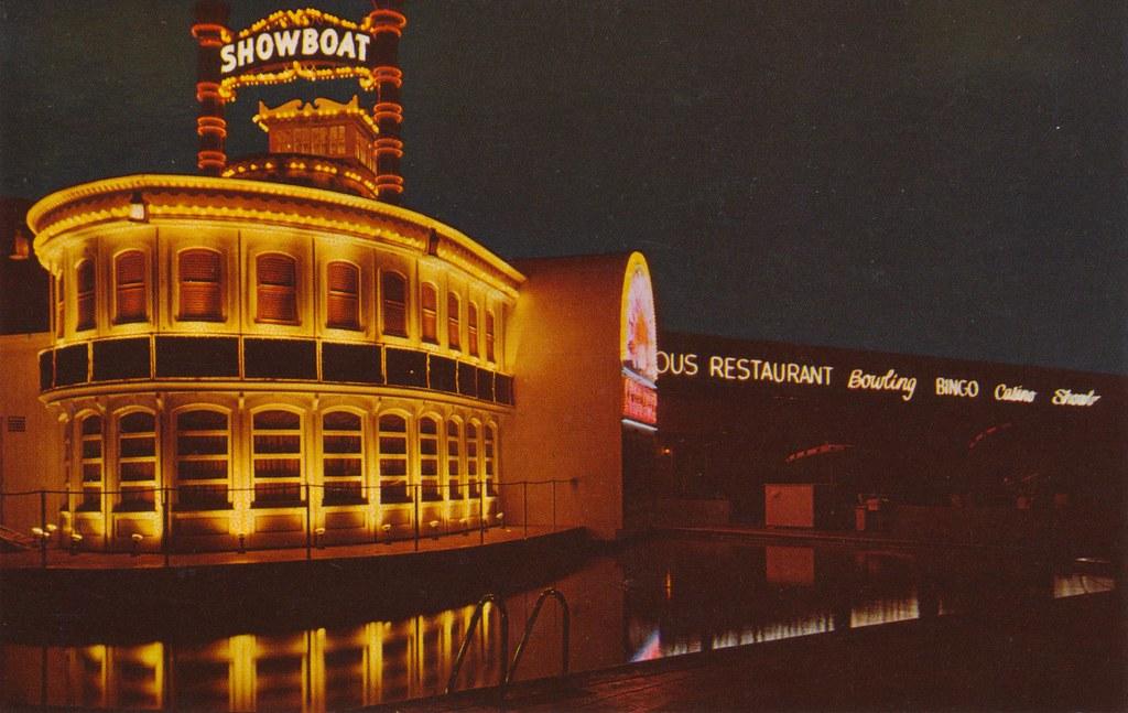 The Showboat Hotel Las Vegas Nevada A Fine Modern