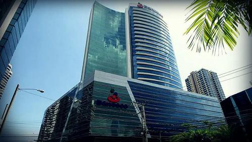 Sede de BANESCO, en Caracas.