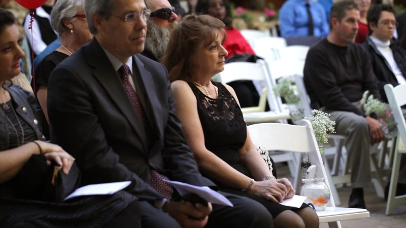 Wedding memorial ceremony from @offbeatbride