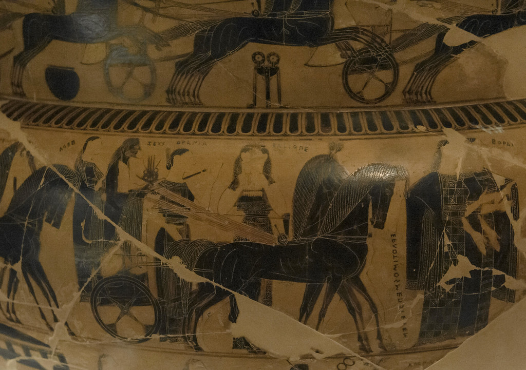 8 Franois Vase Side AThe Marriage Of Thetis And Peleus