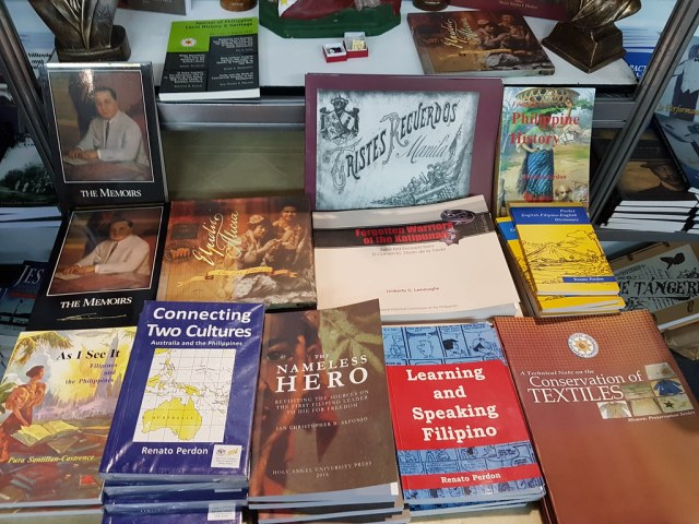 Books published by the National Historical Commission of the Philippines