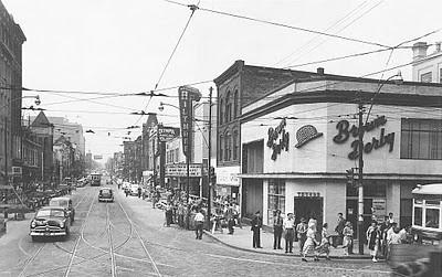 Yonge Amp Dundas Toronto 1950s Corner Of Yonge St