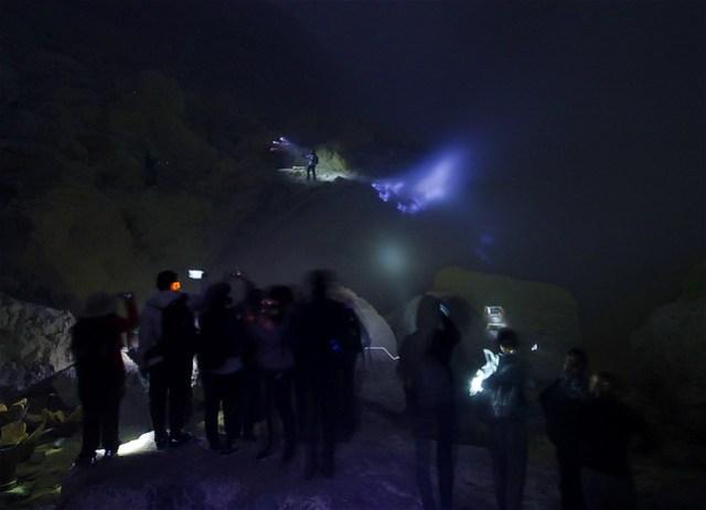 Blue Fire of Ijen Crater (Kawah Ijen)