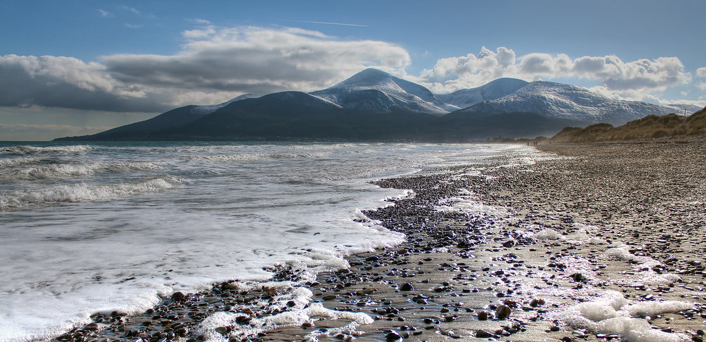 Snow Capped Mourne Mountains We Eventually Got Tired Of