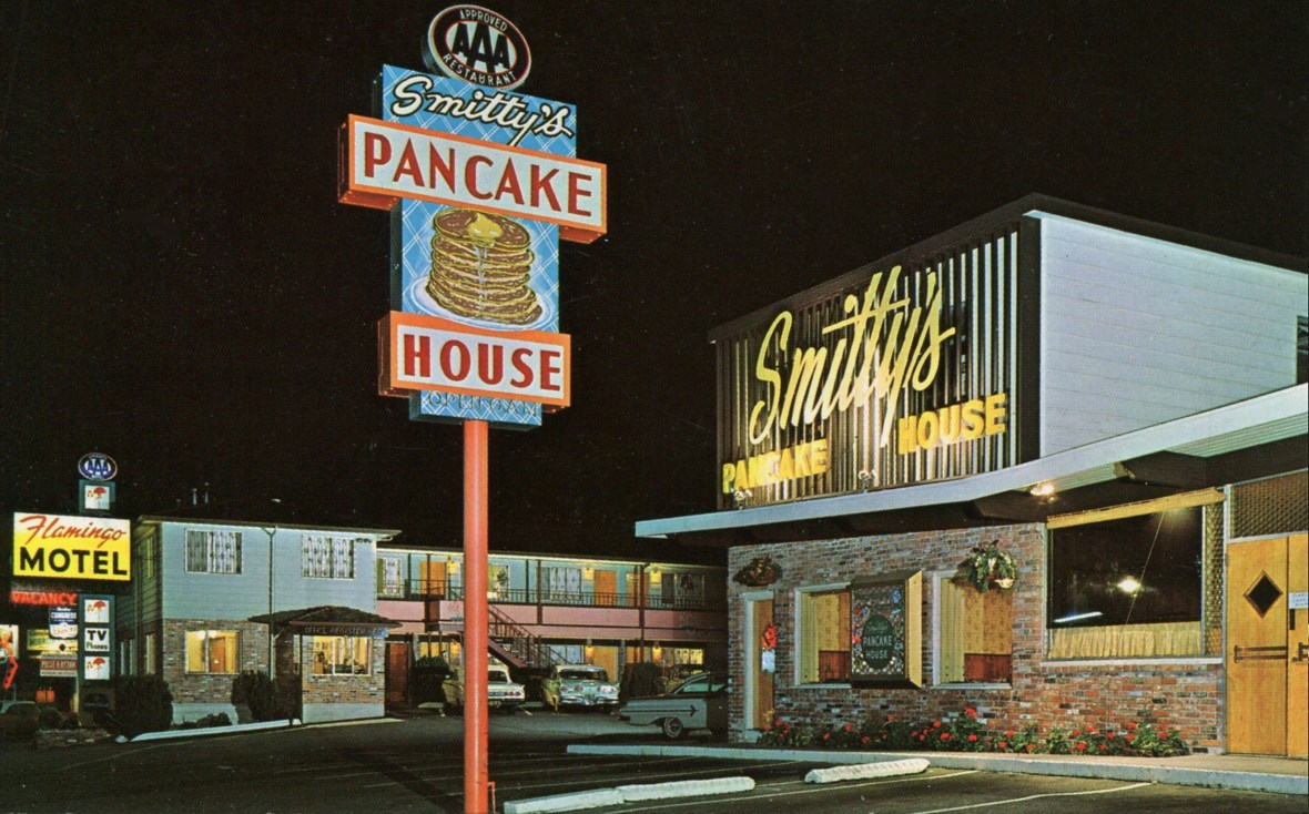 Smitty's Pancake House - Seattle, Washington U.S.A. - 1960s