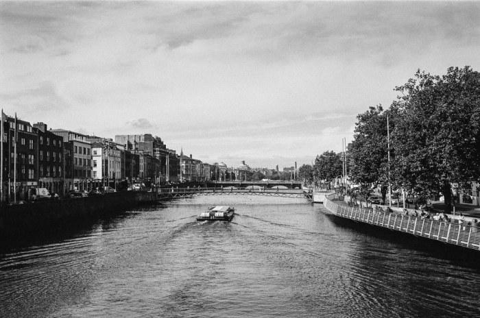 A river runs through Dublin