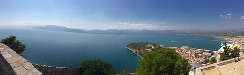 Veduta dalla Fortezza di Palamidi