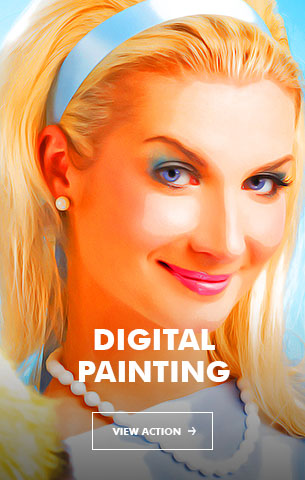 Painting Art - Painting Photoshop Action - 98