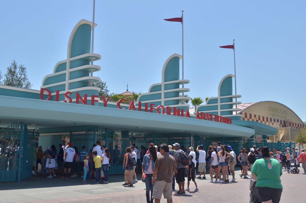 Print California Entrance Adventure Disney