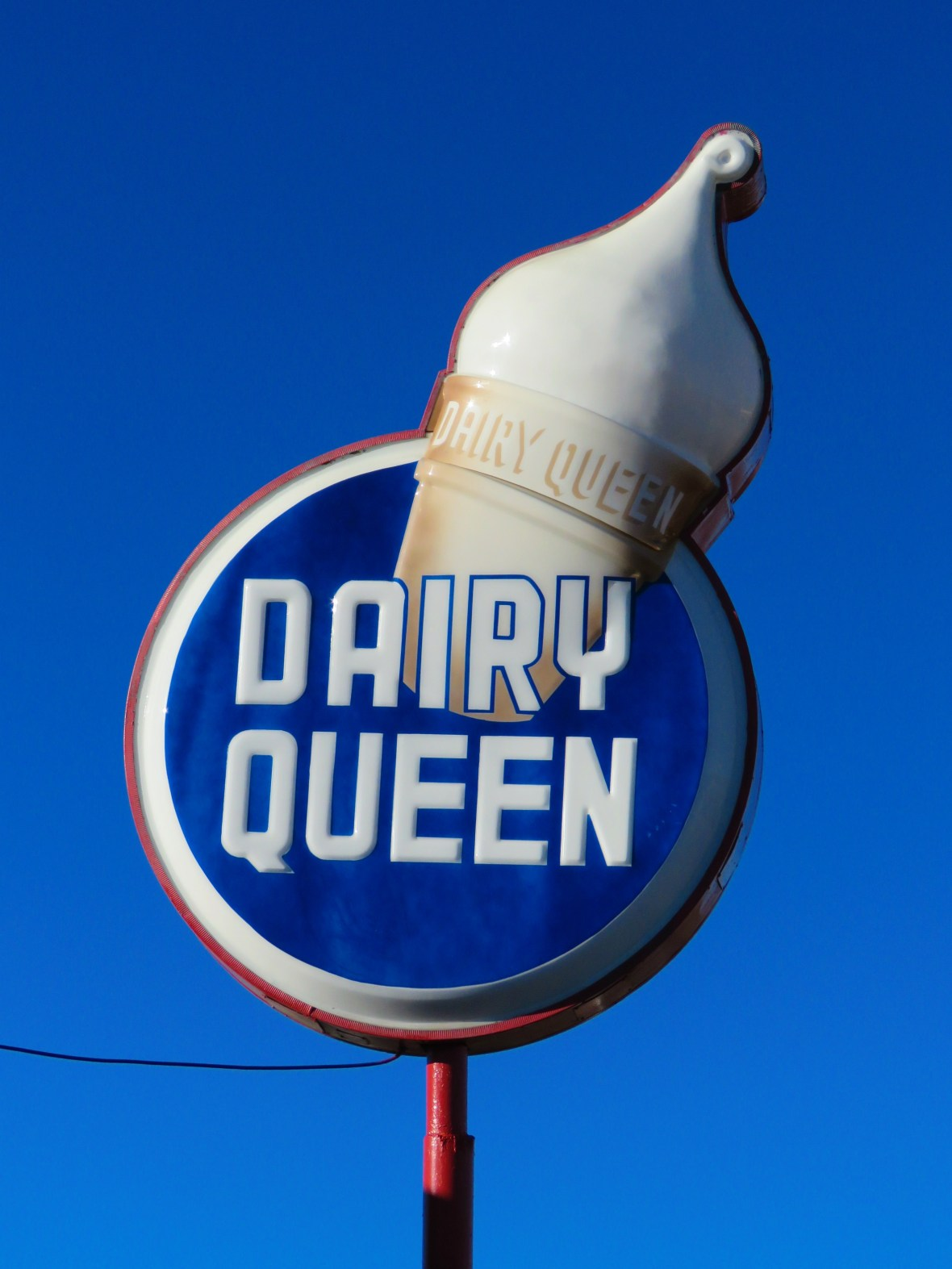 Dairy Queen - 603 Historic Route 66, Williams, Arizona U.S.A. - November 9, 2015