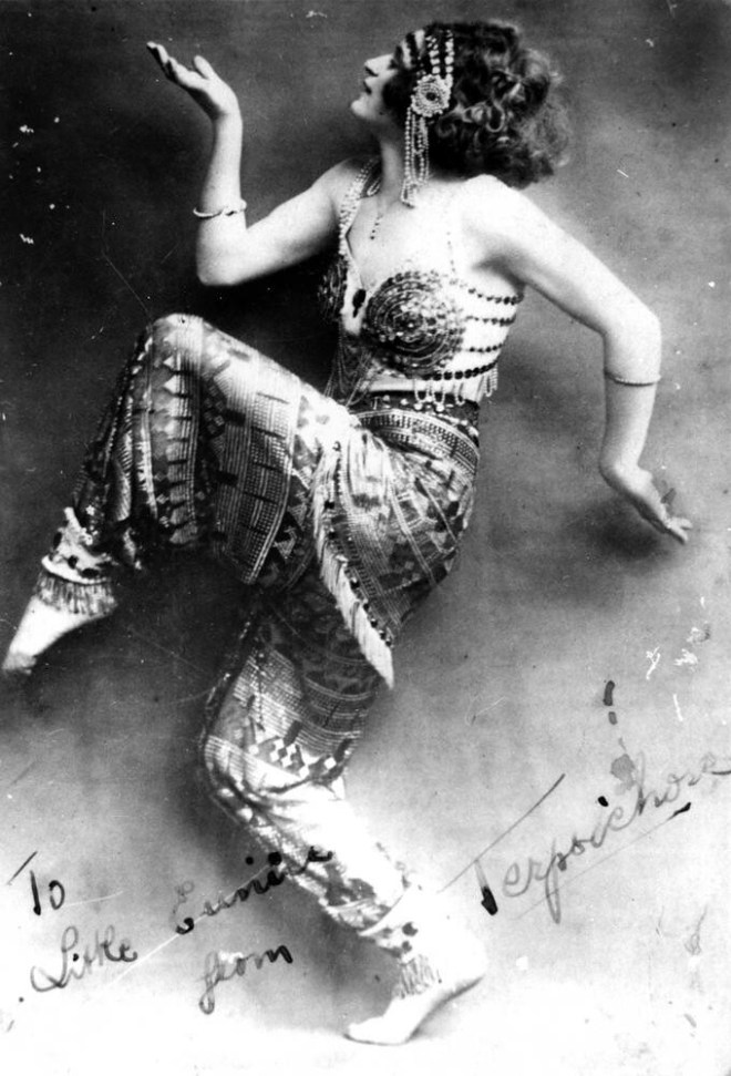 Dancer at Tivoli Theatre