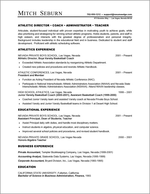Free Professional Resume Templates Microsoft Word  Sample Resume