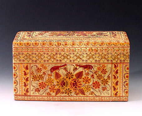 Francisco Coronel Gold leaf box