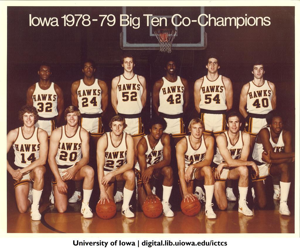 Iowa 1978 79 Big Ten Co Champions The University Of Iowa