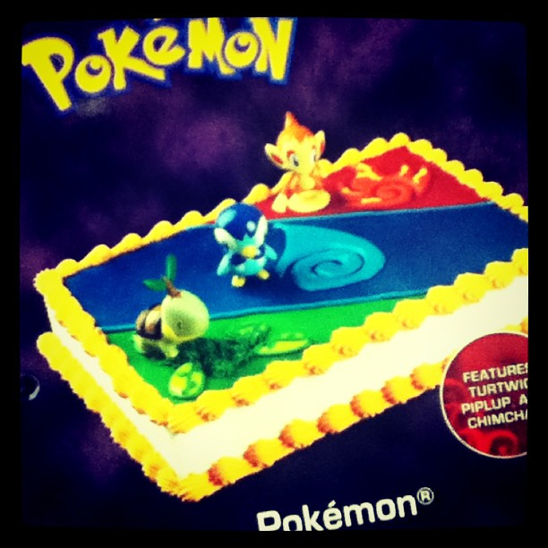 Pokemon Special Order Walmart Birthday Cake