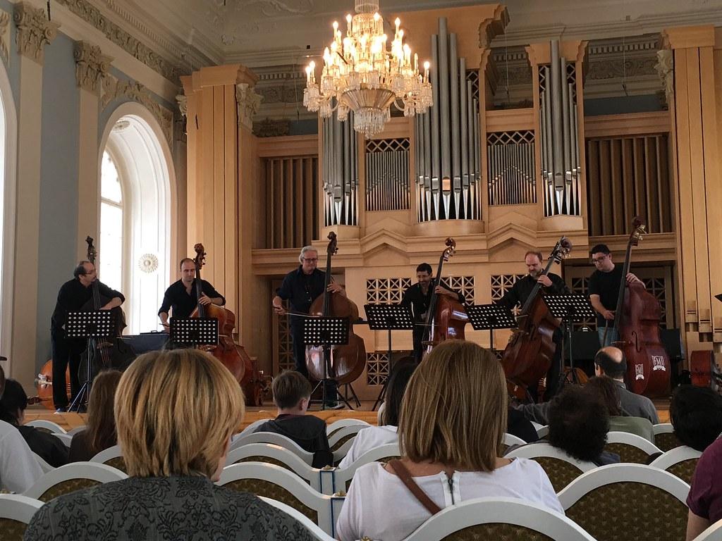 Peter Iuga, Dietmar Fuhr, Claus Freudenstein, Hagai Blitzky, Donovan Stokes, and Simón García perform at BASS2016