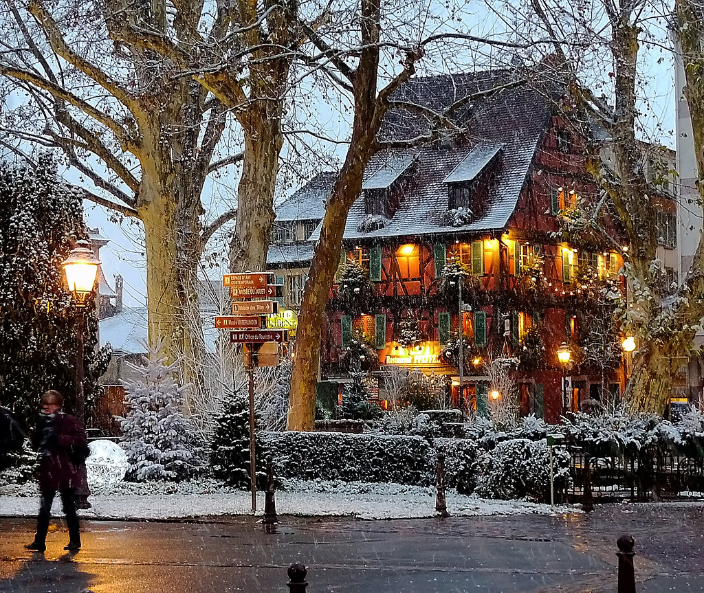 Colmar France Restaurant In December Restaurant My Wife