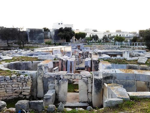 Patrimonio de la Humanidad en Europa y América del Norte. Malta. Templos megalíticos de Malta.
