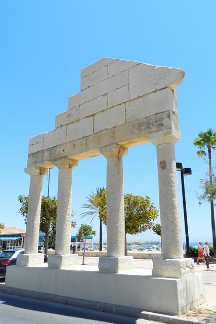 Restos arqueológicos romanos en Fuengirola Málaga 02
