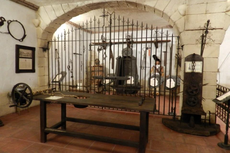 Museo Lara sala de la inquisición Ronda Málaga 04