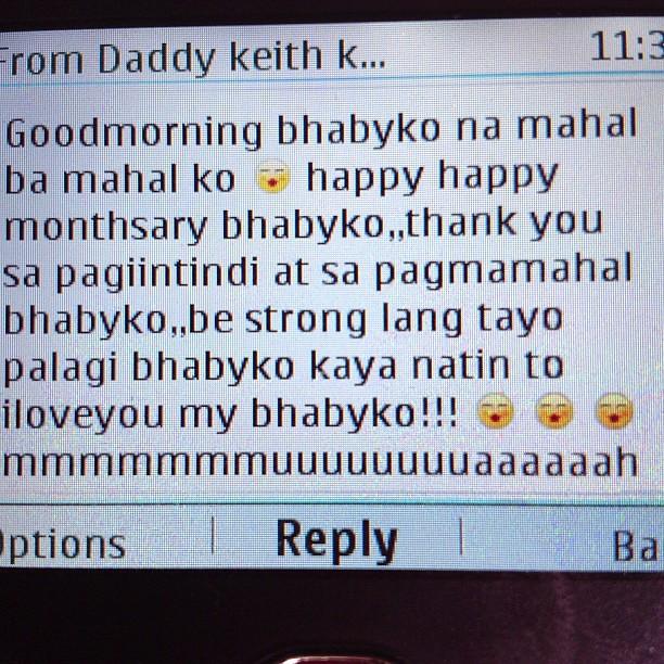 Long Message Boyfriend Sweet Tagalog