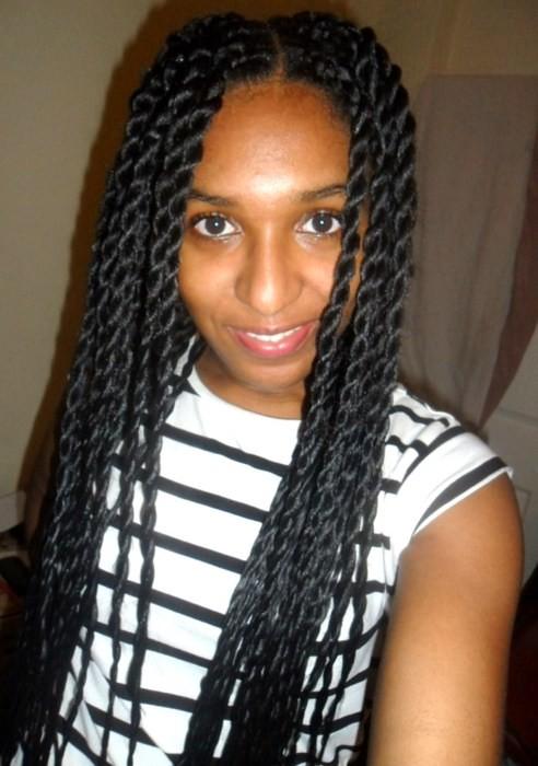 Waist Length Senegalese Twists