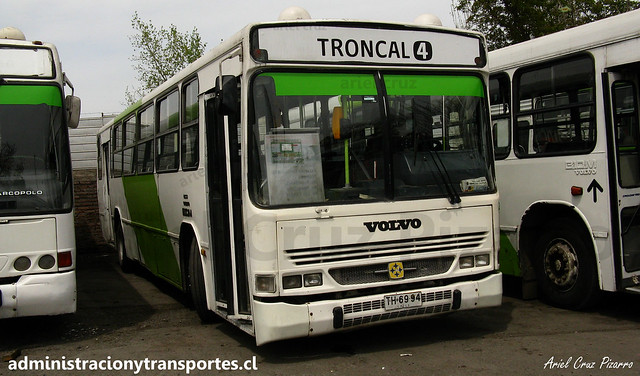 406 Transantiago   Express   Busscar Urbanuss - Volvo B10M / TH6994