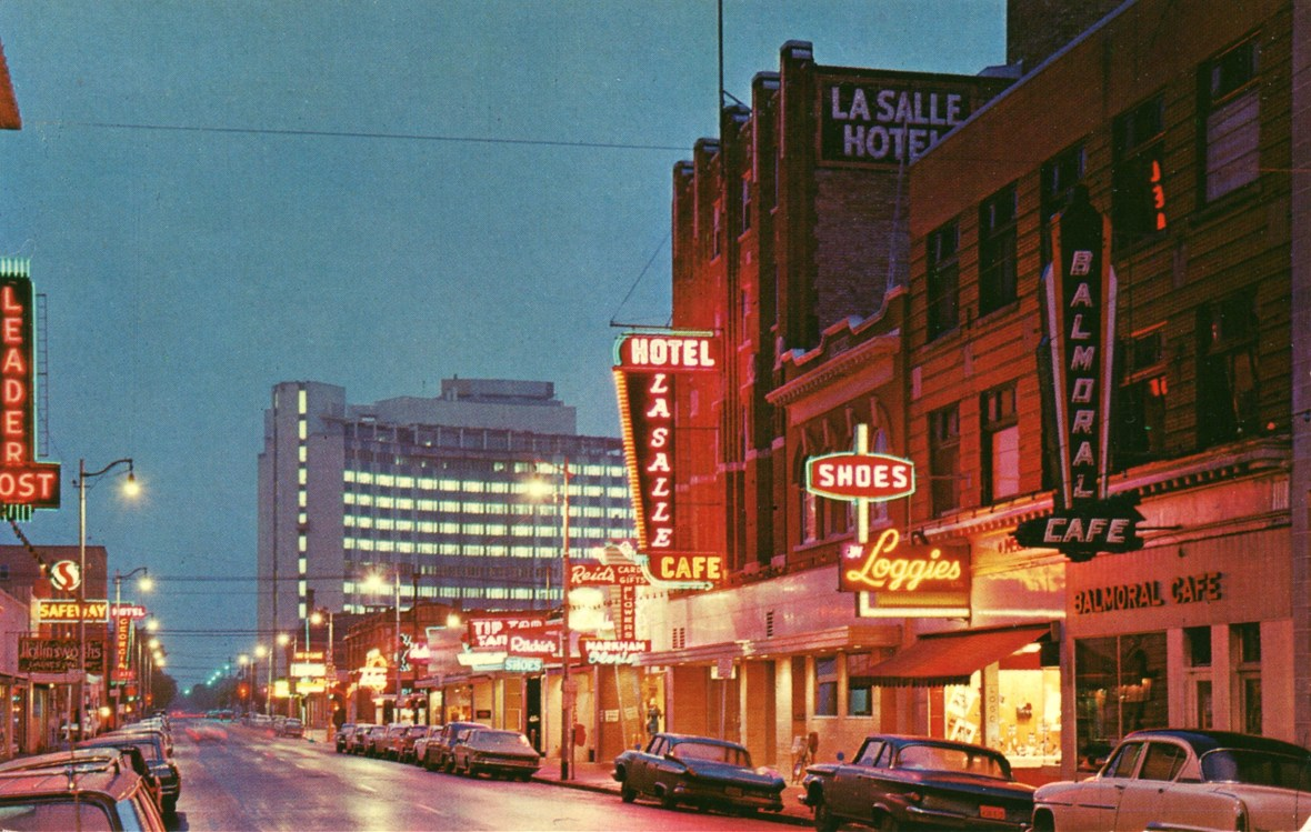 Hamilton Street, Regina, Saskatchewan, Canada - 1960s